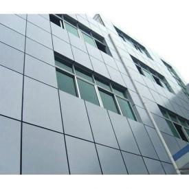 Монтаж композитного вентильованого фасаду