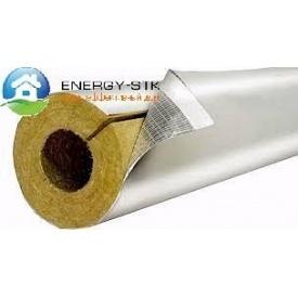 Базальтовый цилиндр для труб фольгированный 30х21 мм