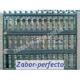 Еврозабор балясины 2x0,5 м