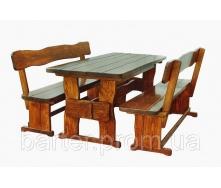 Комплект меблів великий дерев`яний 1800х800 мм