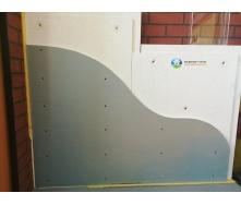 Звукоізолююча панель ЗІПС-Синема 1500х500 мм з комплектом кріплент