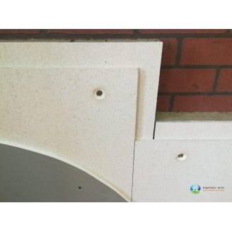 Звукоізолююча панельна система ЗІПС-Синема базового рівня 500x1500x45 мм