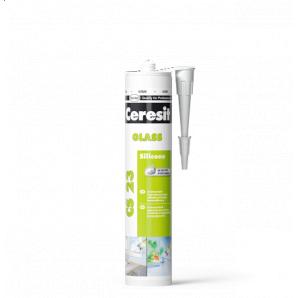 Герметик Ceresit CS 23 Glass для скла 280 мл прозорий