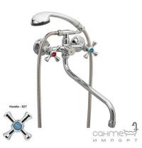 Змішувач для ванни з довгим виливом Zerix T61-DMT-A827