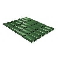 Металлочерепица ТПК Престиж 1190 мм зеленая