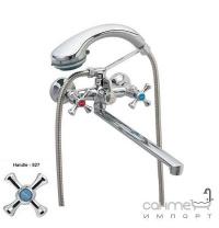Смеситель для ванны с длинным изливом Zerix T63-DML-A827
