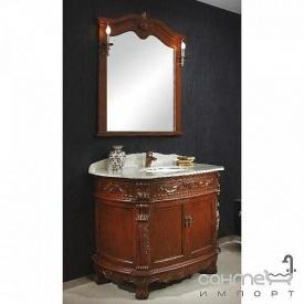 Комплект меблів для ванної кімнати Godi US-09 коричневий