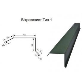Ветрозащита тип 1 поліестер 0,45