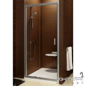 Душові двері Ravak Bliх BLDP2-100 0PVA0C00Z1 полірований алюміній/прозоре універсальна