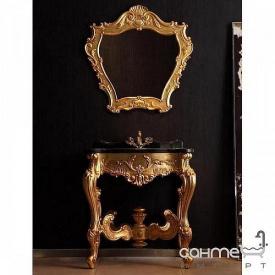 Комплект меблів для ванної кімнати Godi US-23 патиноване золото