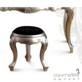 Стульчик (табурет) для ванной комнаты Godi DZ 6 (серебро)