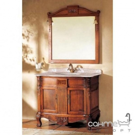 Комплект меблів для ванної кімнати Godi TG-09 канадський дуб, коричневий