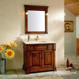 Комплект меблів для ванної кімнати Godi TG-07 канадський дуб, коричневий