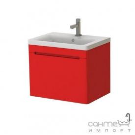 Тумба з раковиною Ювента Tivoli (Тіволі) TV-65 червоний