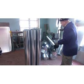 Изготовление вытяжных систем из оцинкованной стали