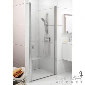 Душові двері Ravak Chrome CSD1-90 білий/прозорий 0QV70100Z1