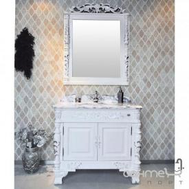 Комплект мебели для ванной комнаты Godi US-08B AW (слоновая кость матовая)