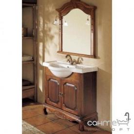 Комплект мебели для ванной комнаты Godi GM10-08 MB (темно-коричневое дерево)