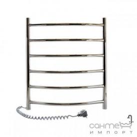 Электрический полотенцесушитель Navin Камелия 480x600 10-007120-4860 нержавеющая сталь, подключение слева