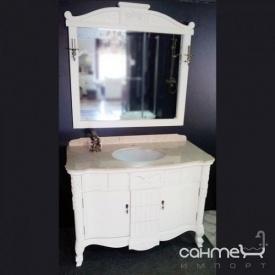 Комплект мебели для ванной комнаты Godi LY-01 T (слоновая кость матовая/кракелюр)
