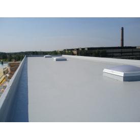 Монтаж на крышу ПВХ-мембраны