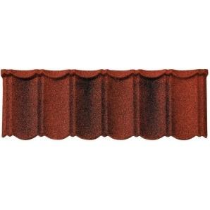 Композитная черепица Isola Powertekk Nordic красно-коричневая