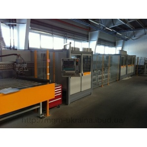 Центр розпилу та обробки ПВХ профілю Schirmer BAZ 100-G 6/Tandem + VU/30-150 градусів