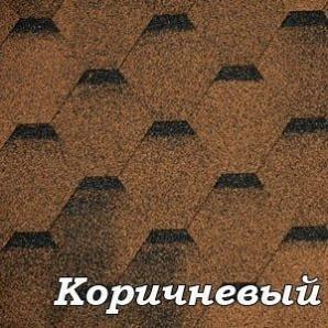 Бітумна черепиця Tilercat Прима коричнева