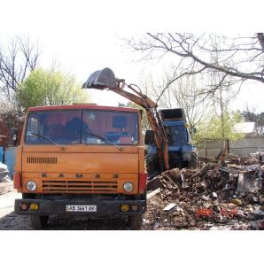 Прибирання будівельного сміття