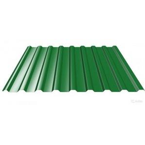 Профнастил покрівля ПК-18 1180 мм зелена