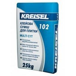 Клей для плитки морозостійкий Kreisel 102 Multi 25 кг