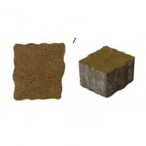 Тротуарная плитка UNIGRAN Плаза стандарт горчичная 6 см