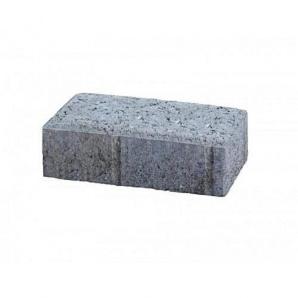 Тротуарная плитка UNIGRAN Кирпичик эконом серая 200х100х60 мм