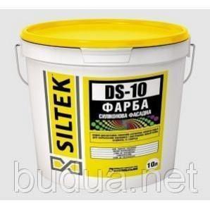 Краска силиконовая фасадная DS-10, 10 л