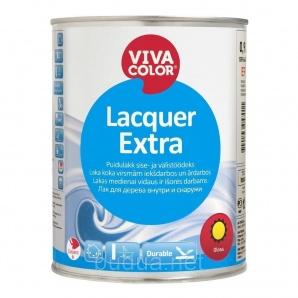 Лак уретано-алкидный Vivacolor Lacquer Extra, полуматовый, 0,9 л