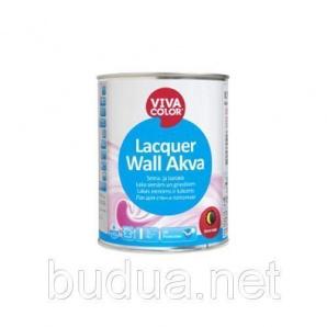 Лак полуматовый Vivacolor Lacquer Wall Akva, EP 2,7 л