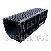 Лоток PolyMax Basic 30.39.38 пластиковый с решеткой ячеистой стальной (комплект)