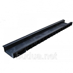 Лоток PolyMax Basic 10.15.06 пластиковый с вертикальным отводом