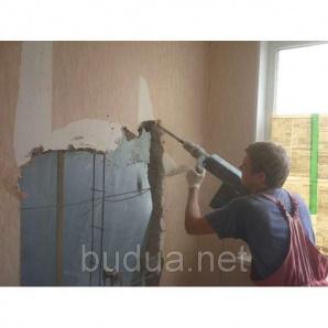 Устройство ниши (бетон)