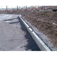 Укладка дорожного бордюра 1 м