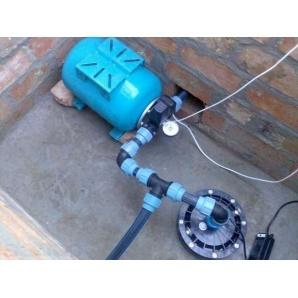 Установка насосного оборудования для скважины