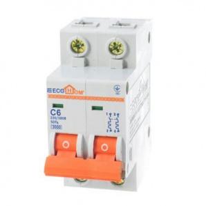 Автоматический выключатель ECO 2р 6А EcoHome