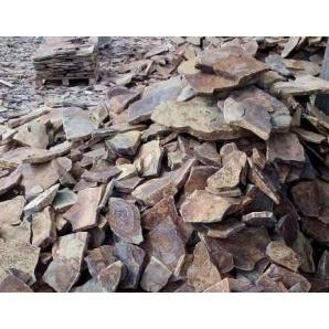 Рваный камень ALEX Group Закарпатский андезит шоколадно-коричневый