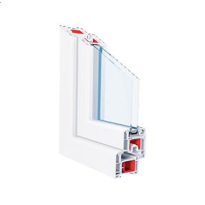 Металлопластиковое окно KBE 70 GT