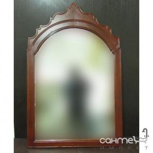 Дзеркало з натурального дерева для ванної кімнати H2O B096 (уцінка)