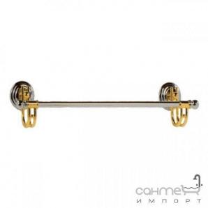 Тримач для рушників 45 см Pacini & Saccardi Accessori Doccia 071/CO хром-золото
