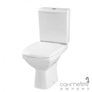 Компакт Cersanit Carina 011 прямий злив з дюропластиковым сидінням мікроліфт Soft-Close