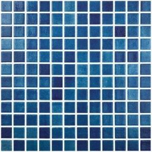 Мозаїка скляна Vidrepur FOG NAVY BLUE 508 300х300 мм