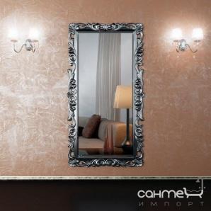 Декоративне дзеркало для ванної кімнати Marsan Mirabelle 1000х1900 білий глянець