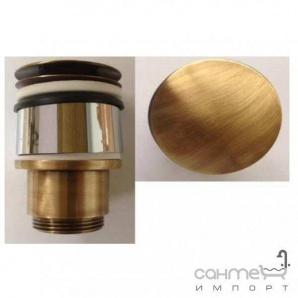 Донний клапан Click-Clack без переливу Bugnatese Accessori RICBR 19287 бронза